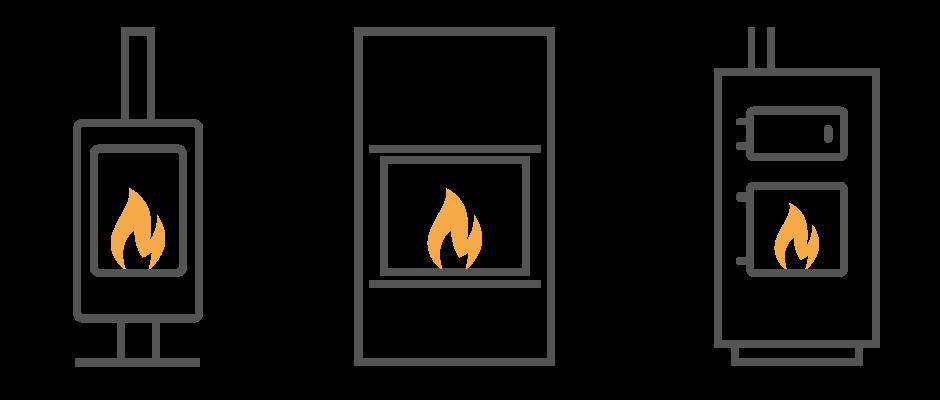 Projet de chauffage au bois, poêle, insert et chaudière